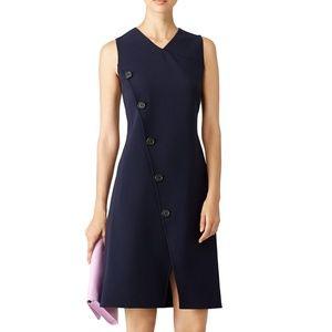 Derek lam dress sleeveless deep navy blue